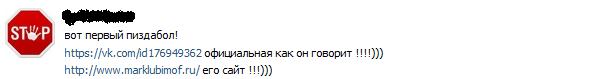 Отрицательный отзыв о мошеннике Марке Любимове marklubimof.ru №2